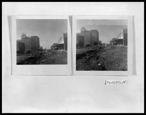 Primary view of object titled 'Street Construction Widening of Cypress St.'.