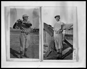 Primary view of object titled 'Simmons Baseball Players; Simmons Baseball Players'.