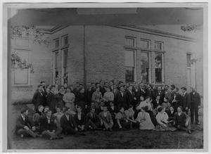 Primary view of object titled 'Students, North Texas Normal College'.