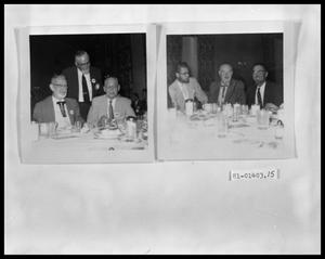 Primary view of object titled 'Men at Table Celebrating'.
