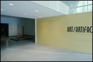 Primary view of object titled 'ART/Artifact [Exhibition Photographs]'.