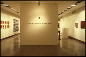 Primary view of object titled '12: Artists Working in North Texas [Exhibition Photographs]'.