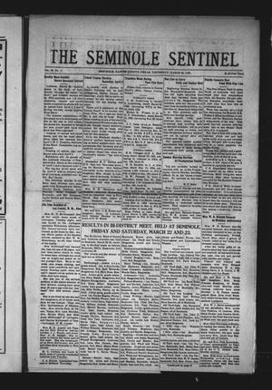 Primary view of object titled 'The Seminole Sentinel (Seminole, Tex.), Vol. 29, No. 4, Ed. 1 Thursday, March 28, 1935'.