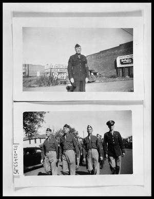Primary view of object titled 'Soldiers on Sidewalk'.