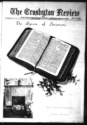 Primary view of object titled 'The Crosbyton Review (Crosbyton, Tex.), Vol. 61, No. 52, Ed. 1 Thursday, December 25, 1969'.