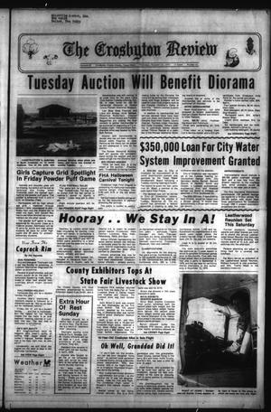 Primary view of The Crosbyton Review (Crosbyton, Tex.), Vol. 67, No. 43, Ed. 1 Thursday, October 23, 1975