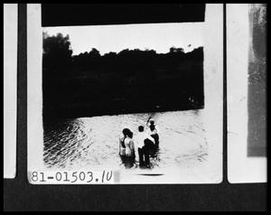 Primary view of object titled 'Baptism in Lake'.