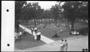 Primary view of object titled 'North Texas State Normal College campus, early 1920s'.