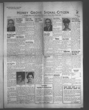 Primary view of object titled 'Honey Grove Signal-Citizen (Honey Grove, Tex.), Vol. 71, No. 3, Ed. 1 Friday, January 27, 1961'.