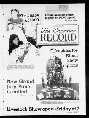 Primary view of object titled 'The Canadian Record (Canadian, Tex.), Vol. 99, No. 4, Ed. 1 Thursday, January 26, 1989'.