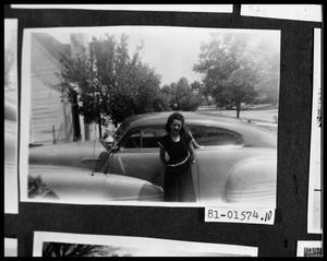 Primary view of object titled 'Girl by Car'.