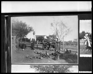 Primary view of object titled 'Man in Farm Yard'.
