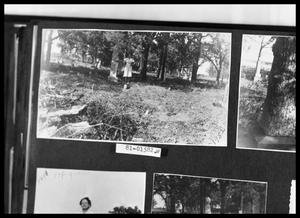 Primary view of object titled 'Woman at Cemetery'.