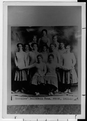 Brownies Basketball Team, North Texas State Normal College