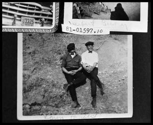 Primary view of object titled 'Two Boys on Hillside'.