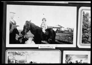 Primary view of object titled 'Child on Pony'.
