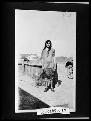 Primary view of object titled 'Girl in Yard'.