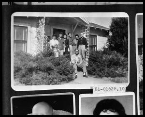 Primary view of object titled 'Family on Porch'.