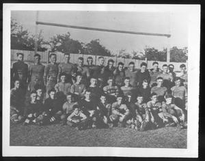 Primary view of object titled '1920 football team'.