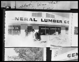 Primary view of object titled 'Exterior, Lumber Co.'.