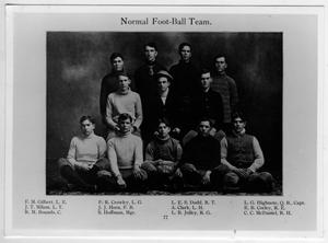 Primary view of object titled '1906 North Texas State Normal College, Normal Football Team'.