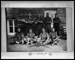 Primary view of object titled 'Patient Baseball Team'.