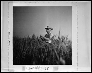 Primary view of object titled 'Man in Field'.