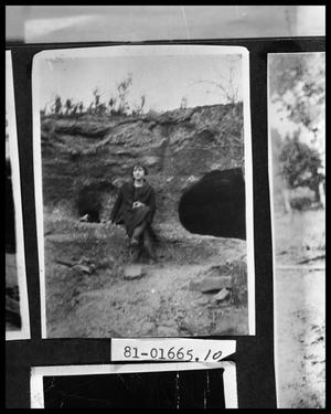 Primary view of object titled 'Girl by Cave'.