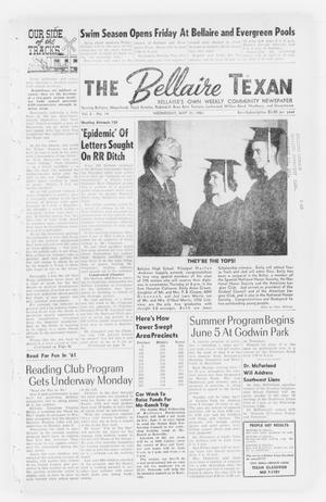Primary view of object titled 'The Bellaire Texan (Bellaire, Tex.), Vol. 8, No. 14, Ed. 1 Wednesday, May 31, 1961'.