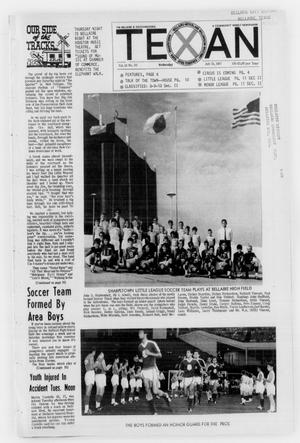Primary view of The Bellaire & Southwestern Texan (Bellaire, Tex.), Vol. 14, No. 23, Ed. 1 Wednesday, July 19, 1967
