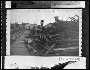 Primary view of object titled 'Storm Damage'.
