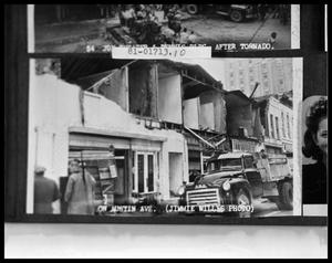 Primary view of object titled 'Tornado Damage'.