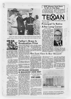 Primary view of object titled 'The Bellaire & Southwestern Texan (Bellaire, Tex.), Vol. 13, No. 13, Ed. 1 Wednesday, May 25, 1966'.