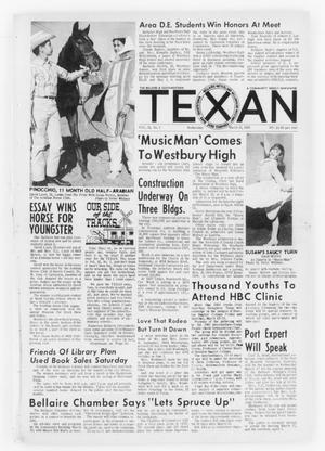 Primary view of object titled 'The Bellaire & Southwestern Texan (Bellaire, Tex.), Vol. 12, No. 1, Ed. 1 Wednesday, March 10, 1965'.