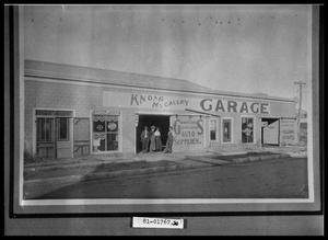 Primary view of object titled 'Garage Exterior'.