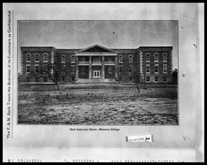 Primary view of object titled 'Girls Industrial Home - Smith Hall - Simmons College'.