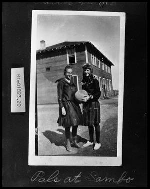 Primary view of object titled 'Two School Girls'.