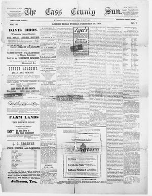 Primary view of object titled 'The Cass County Sun., Vol. 30, No. 7, Ed. 1 Tuesday, February 28, 1905'.