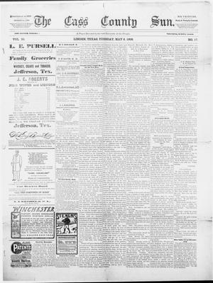 Primary view of object titled 'The Cass County Sun., Vol. 30, No. 17, Ed. 1 Tuesday, May 9, 1905'.