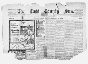 Primary view of object titled 'The Cass County Sun., Vol. 29, No. 2, Ed. 1 Tuesday, January 26, 1904'.