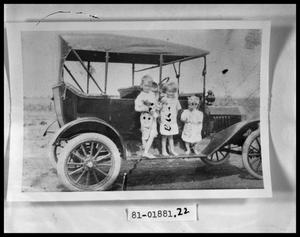 Primary view of object titled 'Children on Car'.