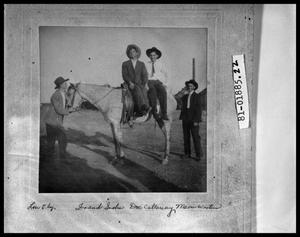Primary view of object titled 'Men With Horse'.