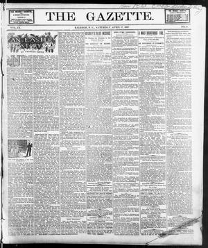 Primary view of object titled 'The Gazette. (Raleigh, N.C.), Vol. 9, No. 9, Ed. 1 Saturday, April 17, 1897'.
