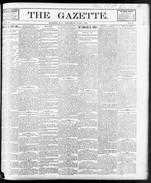 Primary view of object titled 'The Gazette. (Raleigh, N.C.), Vol. 9, No. 16, Ed. 1 Saturday, June 5, 1897'.
