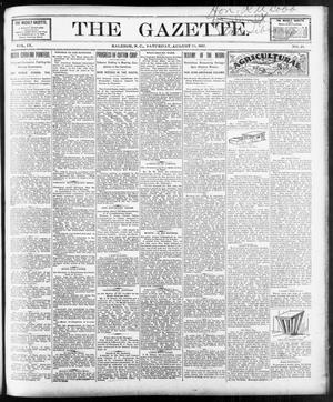 Primary view of object titled 'The Gazette. (Raleigh, N.C.), Vol. 9, No. 28, Ed. 1 Saturday, August 28, 1897'.