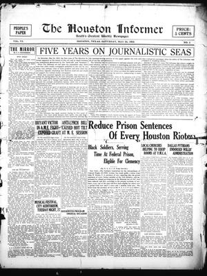 Primary view of The Houston Informer (Houston, Tex.), Vol. 6, No. 1, Ed. 1 Saturday, May 24, 1924