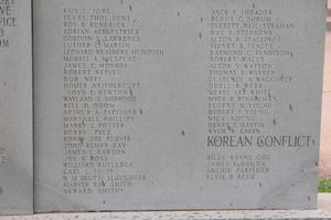 War memorial - Callahan County