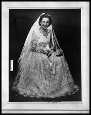 Primary view of object titled 'Wedding Portrait'.