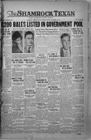 Primary view of The Shamrock Texan (Shamrock, Tex.), Vol. 31, No. 168, Ed. 1 Thursday, November 15, 1934