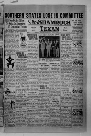 Primary view of object titled 'The Shamrock Texan (Shamrock, Tex.), Vol. 33, No. 41, Ed. 1 Thursday, June 25, 1936'.